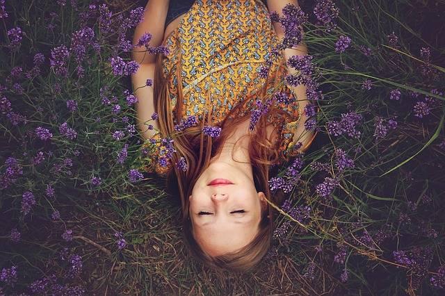 Girl Lavender Asleep · Free photo on Pixabay (160188)