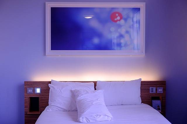 Bedroom Hotel Room White · Free photo on Pixabay (160947)