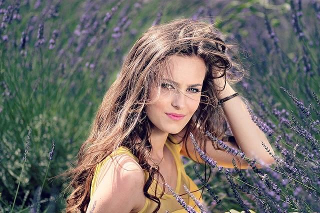 Girl Lavender Flowers · Free photo on Pixabay (160971)