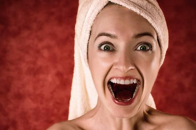 Blonde Towel Portrait - Free photo on Pixabay (178452)