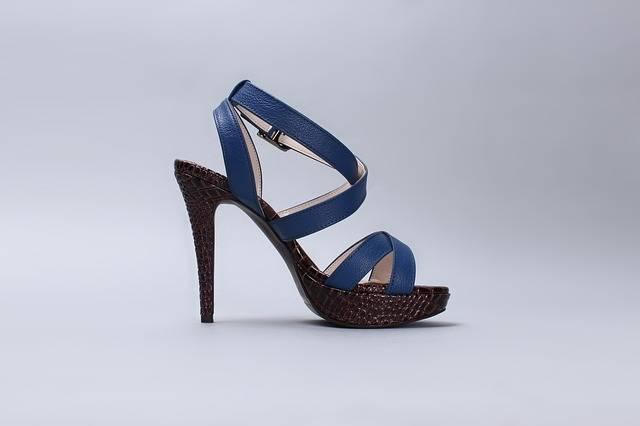 Sandals Blue Shoes Strap - Free photo on Pixabay (183444)
