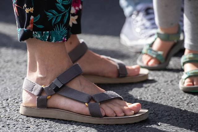 Feet Slippers Sandals - Free photo on Pixabay (183446)