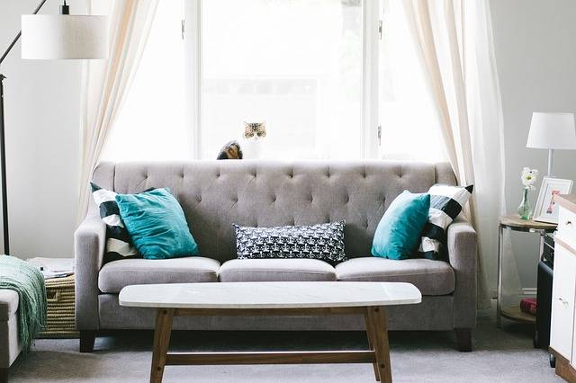 Living Room Sofa Couch Interior - Free photo on Pixabay (186299)