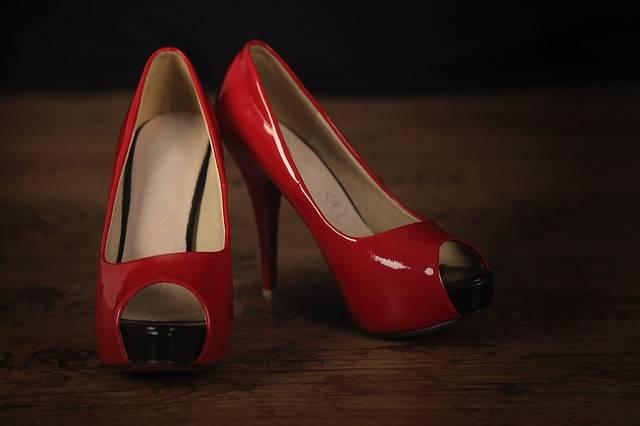 Parquet Shoes Pumps - Free photo on Pixabay (190676)