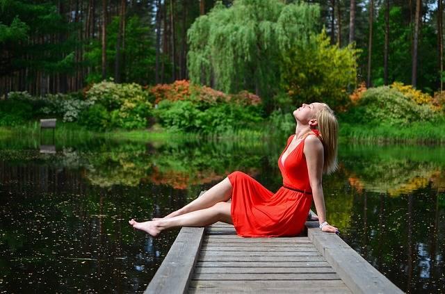 Women Jetty Lake - Free photo on Pixabay (198613)