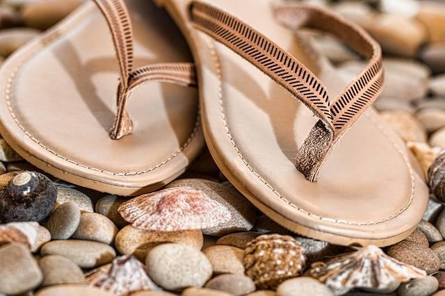 Beach Thongs Flip Flops Footwear - Free photo on Pixabay (201713)