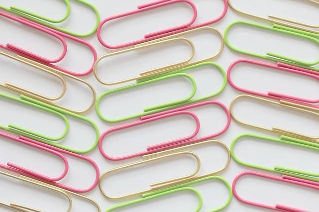 Paperclip Colour Office - Free photo on Pixabay (207680)