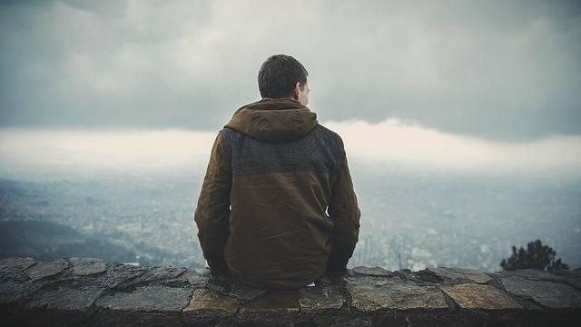 Man Sitting Back - Free photo on Pixabay (209250)