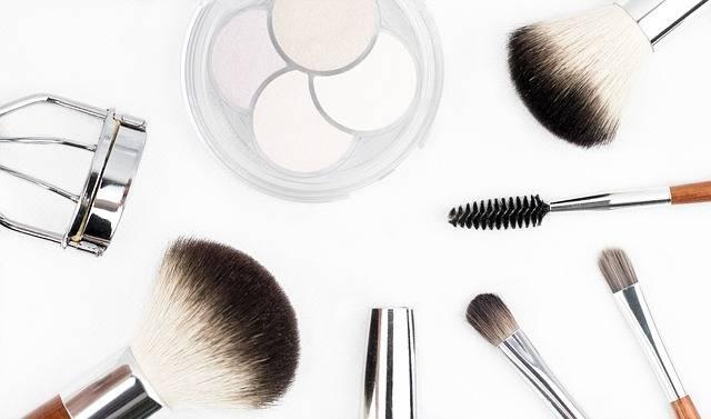Makeup Brush Cosmetics Make - Free photo on Pixabay (211440)
