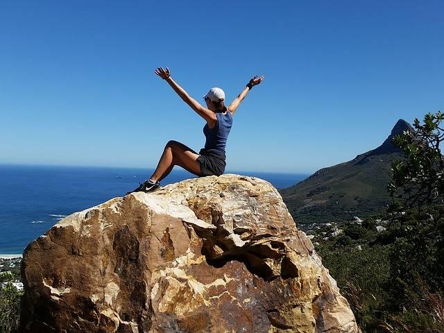 Girl Freedom Climbing - Free photo on Pixabay (237515)