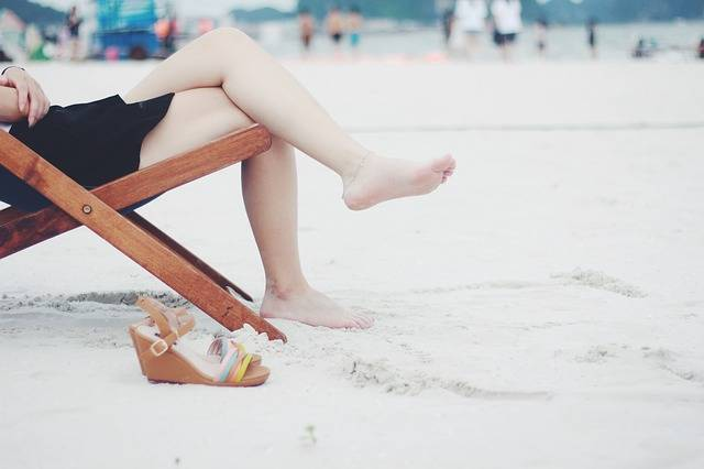 Beach Chair Feet - Free photo on Pixabay (266183)