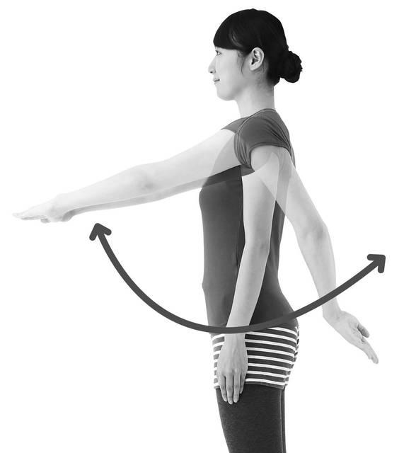 1日3分「腕ふりブラブラ体操」で肩こり&腰痛改善