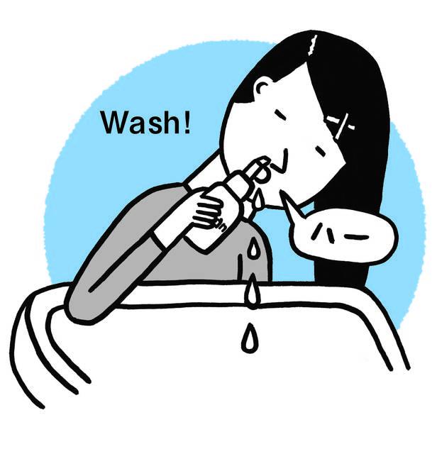 花粉症やアレルギーの人必見! くしゃみ・鼻水・鼻づまりは「鼻うがい」ですっきり!