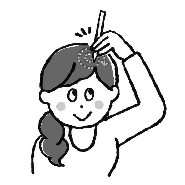 頭痛・腰痛に「つま楊枝チクチク療法」