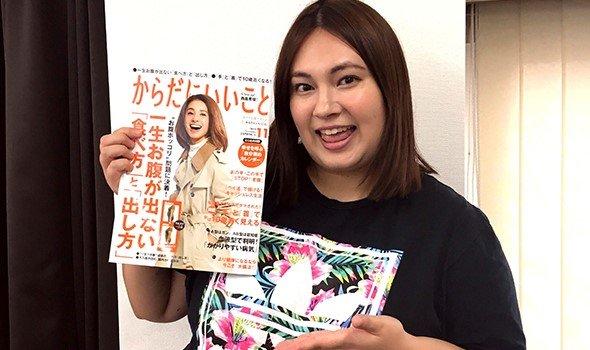12月号ウラ話 ぽっちゃりアイドル・大橋ミチ子さんが相撲ダイエットに挑戦!