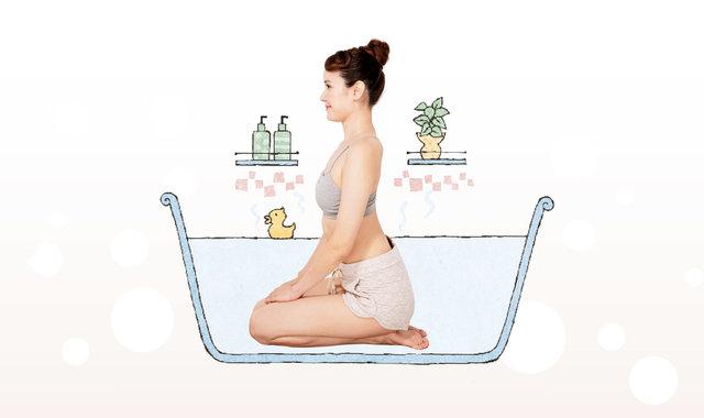 入浴効果を高める「90秒正座入浴」で血流を促進