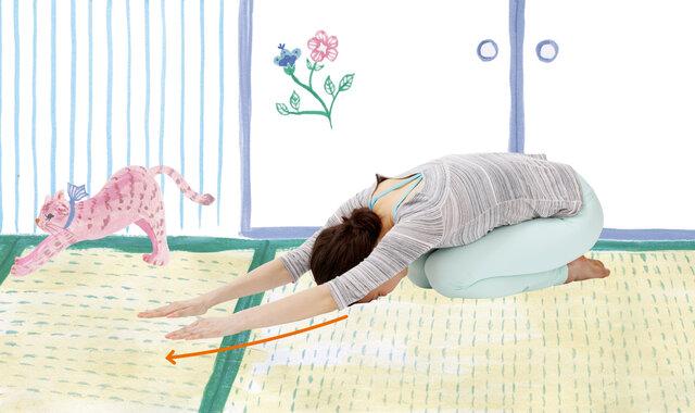 リモートワークで腰痛・肩こりがつらい…。「仲居さん座りストレッチ」で対策を