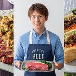 イケメン料理研究家 寺田真二郎さんが作る、ごちそうアメリカンビーフ