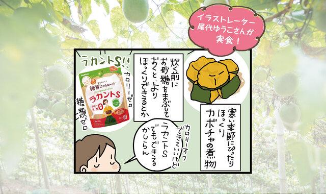 【連載】煮物を作るときにも大活躍の自然派甘味料「ラカントS」