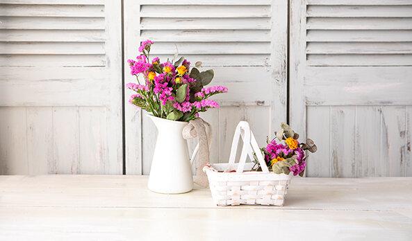 ドライフラワーの作り方・飾り方の基本|季節の花 活け方レッスン(6)