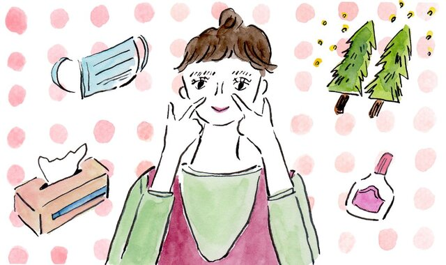 今つらい花粉症を和らげる 症状別「ツボ9選」|田中友也さん 季節の養生法