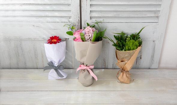 人に贈りたくなる「プチブーケ」の作り方|季節の花 活け方レッスン(7)