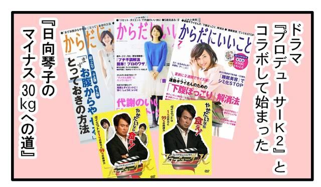 【連載】アラフォー漫画家・日向琴子の「-30kgダイエットへの道」第1回