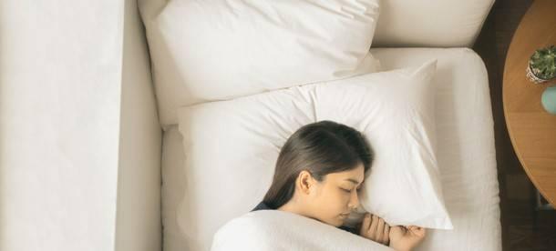 ▲眠っている間に温度を計測します