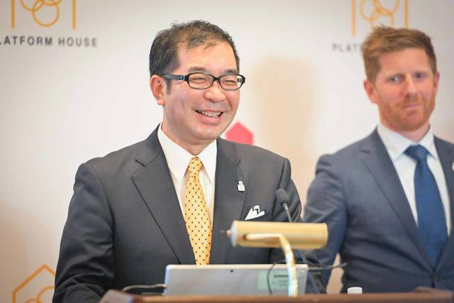 積水ハウス 代表取締役社長の仲井嘉浩氏