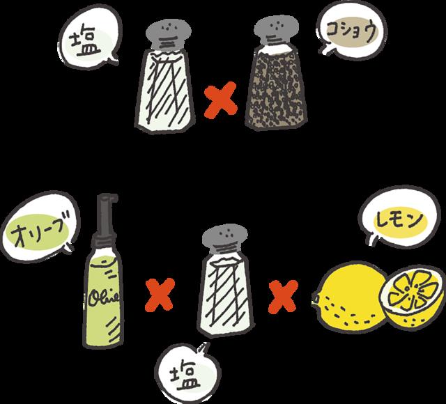 【ルール3】シンプルな味付けで糖質セーブ