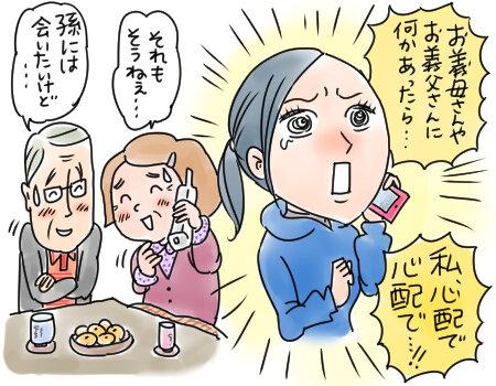 義父母への電話