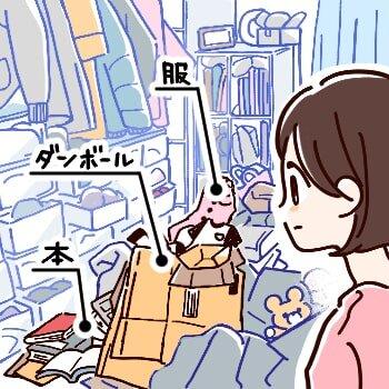 Step1. 部屋を見て、何が多いのかを分析