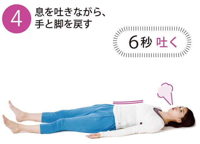 胎児ポーズ呼吸