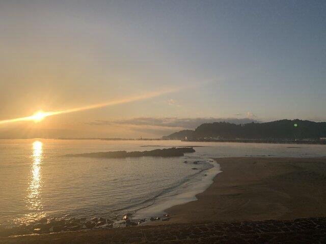 夕日イメージ写真