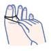 ツボ刺激「足指ゴムしばり」で下半身ダイエット