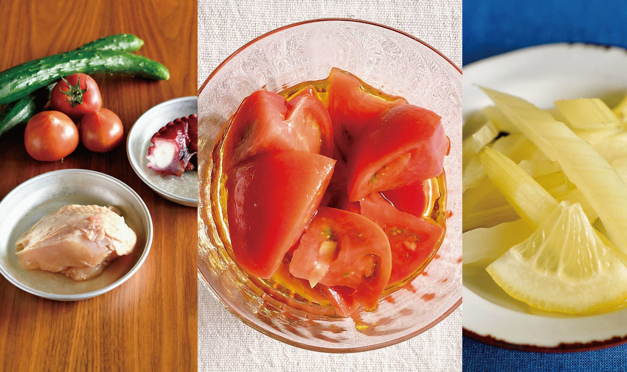 簡単おいしく作り置き! 爽やか漬け込みレシピ(1)野菜編 からだにいいことWeb