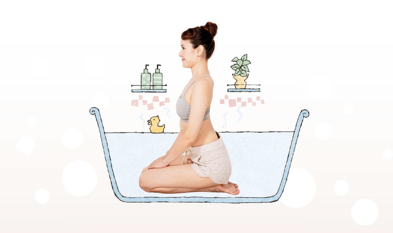 入浴効果を高める「90秒正座入浴」で血流を促進|からだにいいことWeb