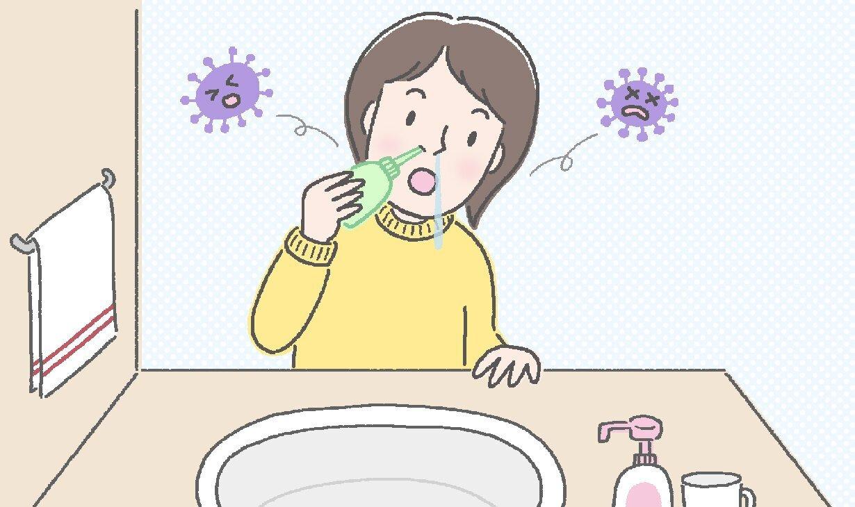 鼻うがいのやり方は?感染症予防や鼻づまりに効果的な方法|からだにいいことWeb