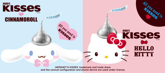 三麗鷗與好時Hershey's巧克力聯合推出合作款雜貨!