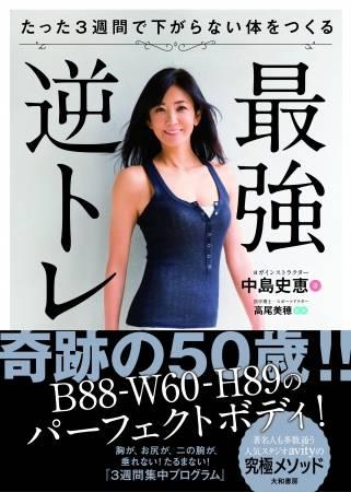 50歲美魔女中島史惠維持體態的秘密!最強瘦身操「逆反訓練」大公開