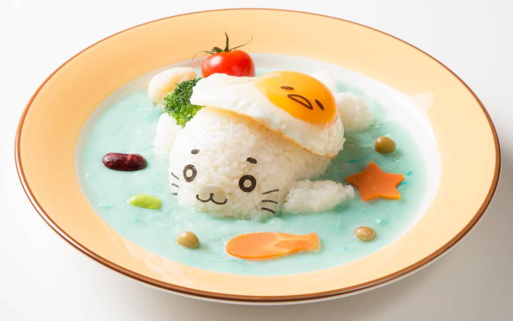 蛋黃哥x小斑海豹首次聯名合作咖啡廳1/7~2/17大阪梅田期間限定登場!