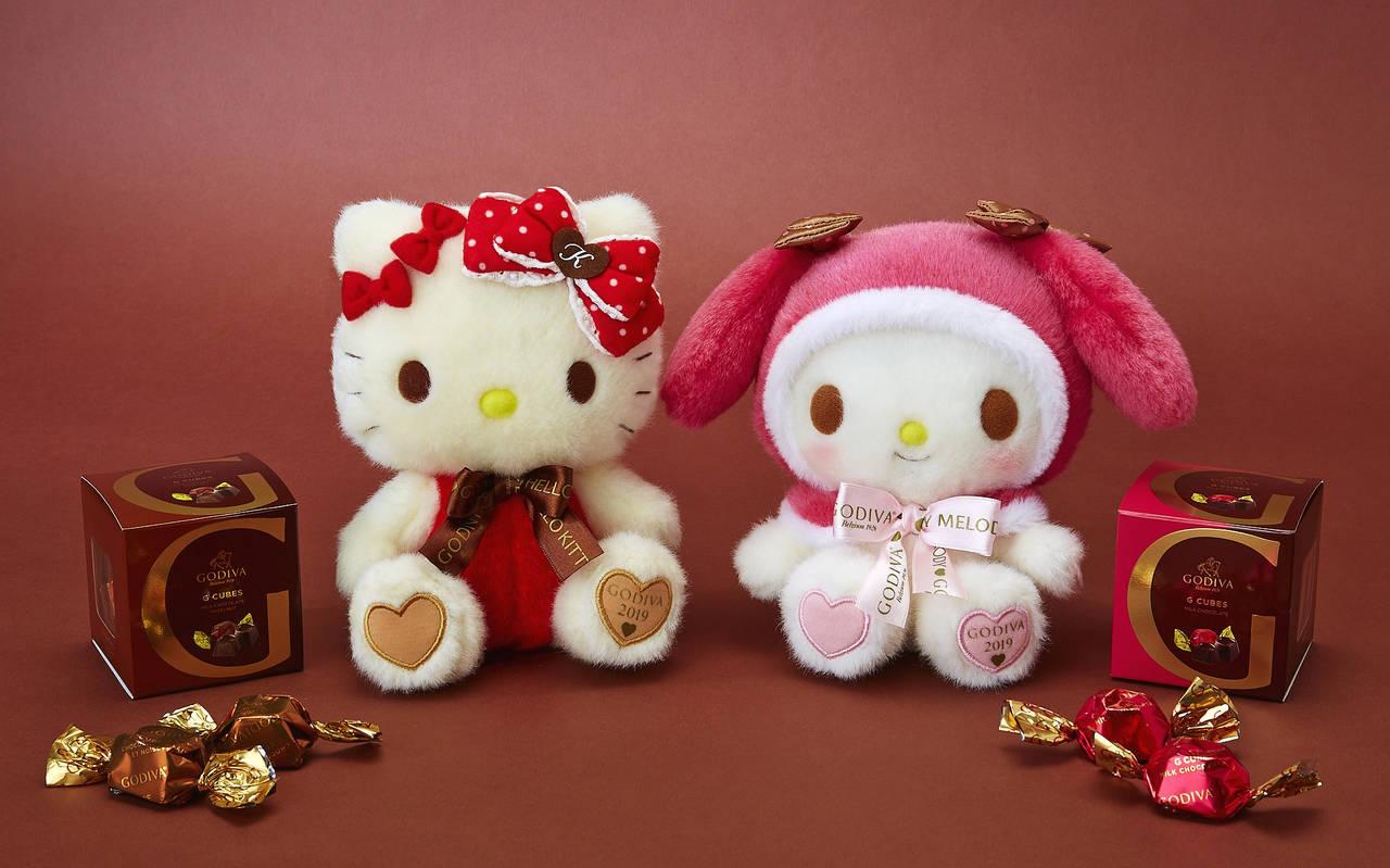三麗鷗與GODIVA!Hello Kitty與美樂蒂一同推出巧克力禮盒