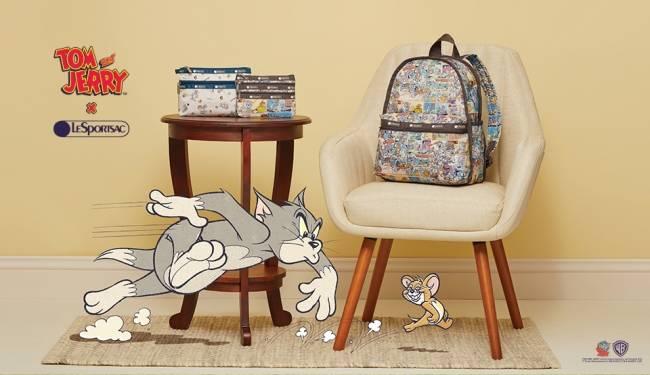 湯姆貓與傑利鼠&LeSportsac聯名系列商品1/23起開始販售!