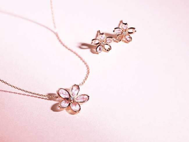 4℃春天珠寶系列新登場 買就送櫻花珠寶盒