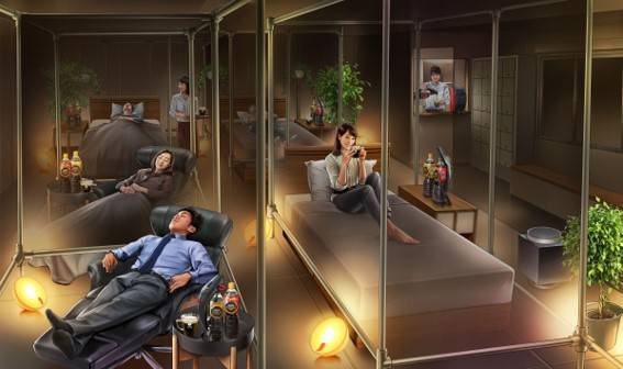 【東京】雀巢咖啡睡眠咖啡廳新開幕 逛街累了來這裡體驗優質睡眠吧