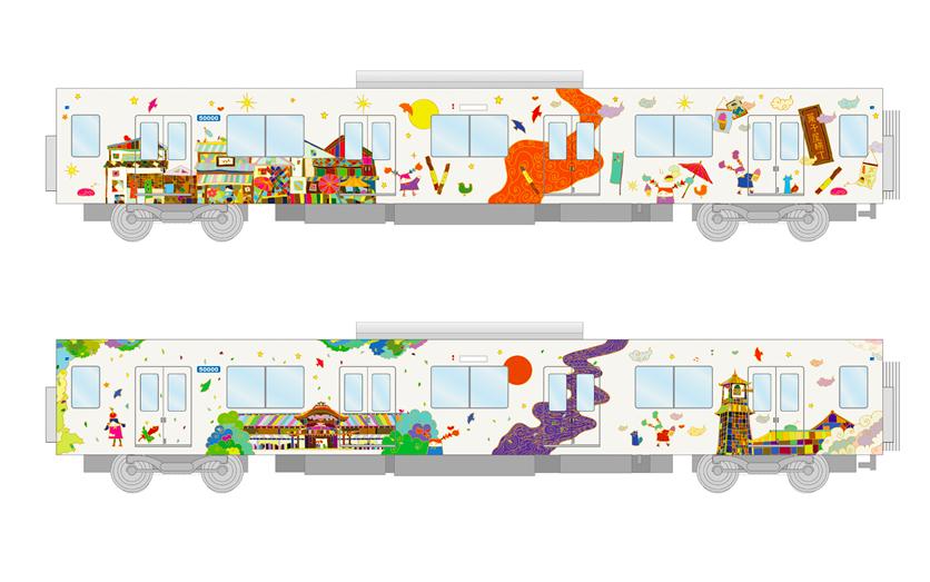 東武東上線班次時刻改動 「川越特急」誕生並引進新型彩繪車廂
