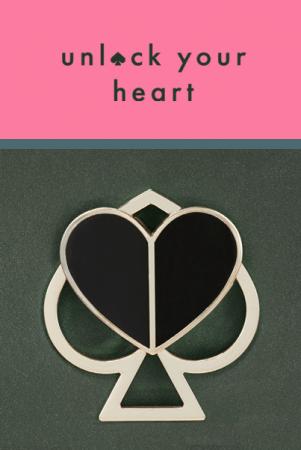 "Kate Spade New York黑桃新象徵 ""unlock your heart""活動開跑!"