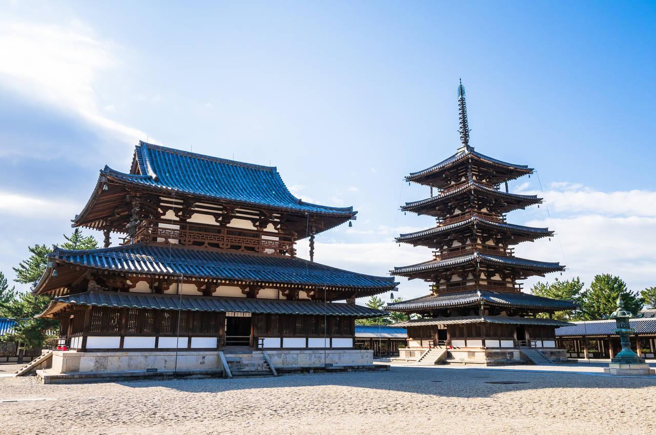 日本的世界遺產系列No.13ー法隆寺地區的佛教建造物群