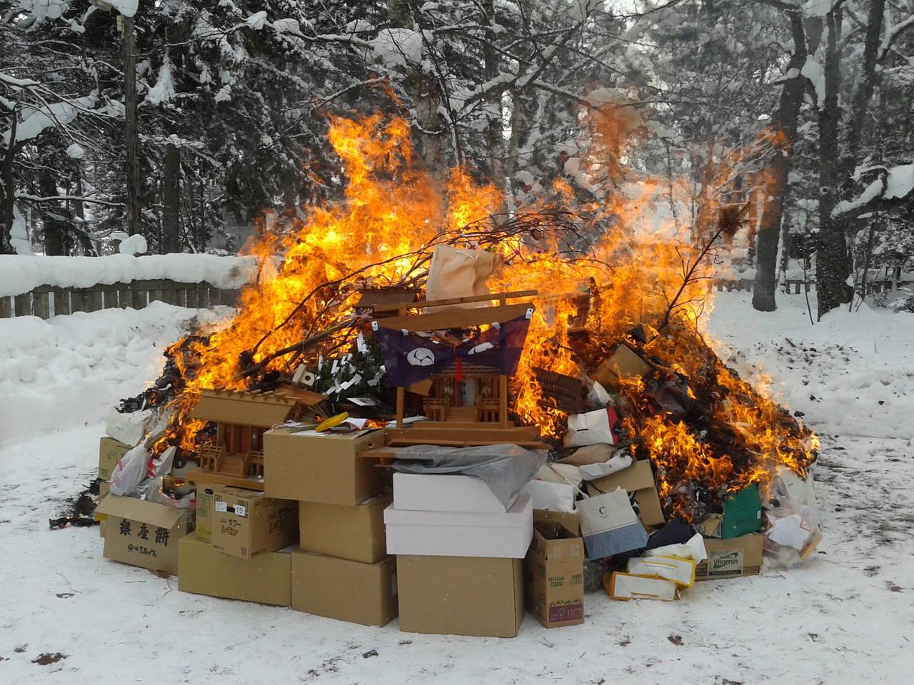 【我的日本生活物語】御守過期怎麼辦?北海道東川神社どんど焼き儀式幫你處理