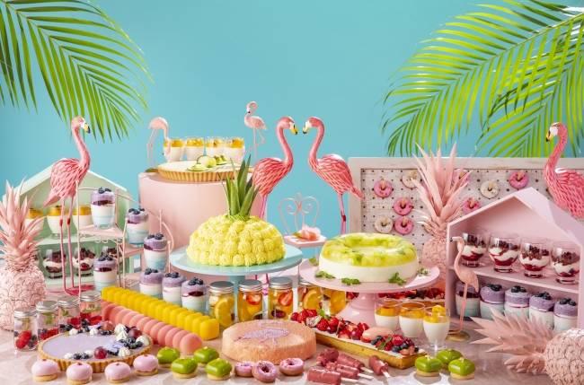 名古屋希爾頓邀你參加熱帶紅鶴派對~夏日甜點吃到飽~